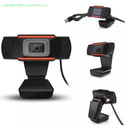 720p Webcam ordenador USB Clip de la cámara de vídeo Full HD