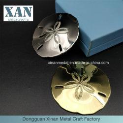 卸売および顧客用明るい金3Dの記念品の硬貨の印