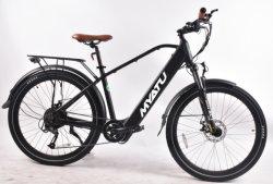 E bicicleta de montanha com 8 sensores de torque de diversão
