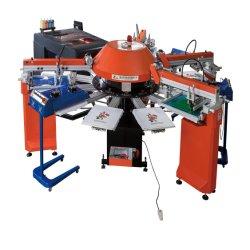 Spg-154+1/10 de Nieuwste Automatische Machine van de Druk van het Scherm Slik van de T-shirt Digitale voor Kledingstuk
