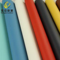 Commerce de gros meubles Abrasion-Resistant canapé en cuir gaufré en microfibre de haute en cuir en daim