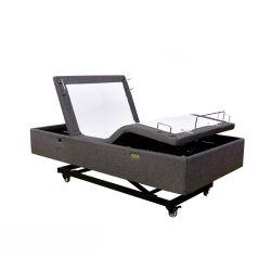 Nouveau modèle Hi-Low lits réglables de levage électrique de lit de montée et de lits d'inclinaison avec fonction de massage pour Classic Base réglable