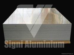Обе стороны клад алюминиевого листа для параллельных ребер конденсатора
