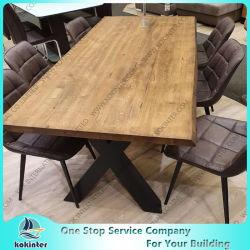 Carvalho selvagens tábua de madeira Tampo da mesa