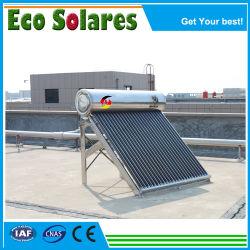 Baixo custo de alta qualidade mais barato da marcação, RoHS, Keymark ou aço inoxidável galvanizar depósito de água de pressão de suporte Solar Split separar partes separadas aquecedor solar de água