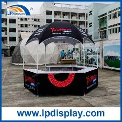 Novo Design Exterior do Mostrador Gazebo promocionais tenda para feira de negócios