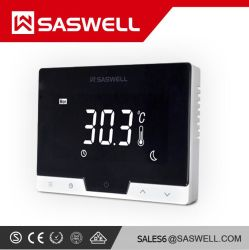 Saswell T19whb-7-RF-WiFi batterie Thermostat de pièce programmable d'Alimentation, Internet sans fil contrôleur de température du thermostat