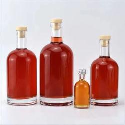 中国の工場直売の高いフリントガラスのワインの瓶500のMl/ウォッカ700のMlのかテキーラまたはラム酒またはウイスキーボトル