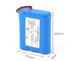 Pack de batterie 12V 18650 Pack de Batterie rechargeable au lithium-ion 2200mAh