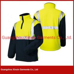Workwear della tessile di stirata legato panno morbido polare del poliestere del Manufactory per lavoro (W433)