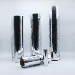 2021 Hochwertige Aluminium Vakuum Metallisierte Haustier Polyester-Folie