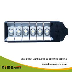 SL001 COB 조광성 앵글 LED 스트리트 램프(발광 효율 포함