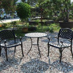 Kaffee-Tisch-Stock mögen Gussaluminium-Möbel im Freien