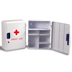 工場使用の非常装備の壁に取り付けられた救急箱ボックス