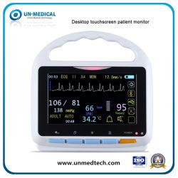 (UN2000A) draagbare Vital Sign-patiëntmonitor met aanraakscherm voor mens/dier/dier