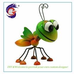 Más reciente de metal mayorista de jardinería de hierro animales Jardín de Mariposas ornamentos