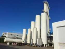 Sauerstoffpflanzensauerstoffgerät Stickstoffpflanzenstickstoffgerät Sauerstoffgenerator flüssige Luft-Trennanlage für Sauerstoff mit Stickstoff-und Argon-Maschine