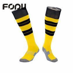 Kundenspezifische Mann-im Freien gestrickte Sport-Basketball-Socken-Komprimierung-Ebenen-athletische Socken