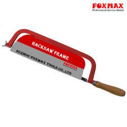Польша Dronco Деревянные рукоятки металлический стальной ножовки по металлу рамы (FM-HA09)