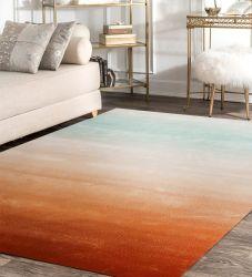 La soie et de viscose Tapis et moquettes pour l'étage Vintage tapis en soie marocain