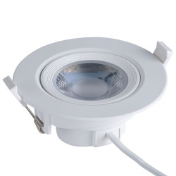 5W/Commercial 7W/9W/12W/15W à LED haute puissance de l'intérieur vers le bas de la lampe de plafond ronde Spot LED SMD de l'éclairage encastrés Downlight gradateur de température de couleur