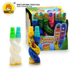 Frucht-Aroma-Doppelt-Schlange-saure Spray-Süßigkeit