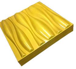 텔레비젼 배경 벽을%s 다채로운 3D PVC 벽면