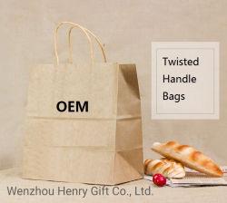 OEM Bolsos bolsas de papel para ir de compras y embalaje