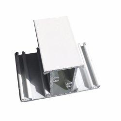 Het witte Poeder Met een laag bedekte Profiel van de Uitdrijving van het Aluminium voor de de Glijdende Vensters en Deuren van het Aluminium