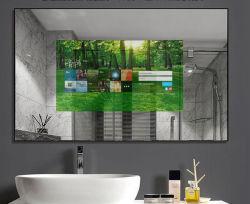 적외선 감응작용으로 광고를 위한 42 인치 인조 인간 Windows 도매로 주문을 받아서 만들어진 지능적인 /Magic 미러 WiFi