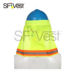 Equipamentos de protecção e segurança Hi Vis Capacete Hat o capô