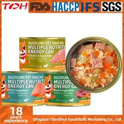 Energie van de Snack van de Hond van Tdh kan de Veelvoudige Voedings met het Grote Voedsel voor huisdieren van de Vitamine van het Vlees en van de Samenstelling