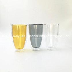 高品質のホウケイ酸塩Double Wall ガラスコップ