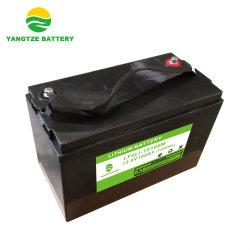 Los ciclos de 5000 12V 100ah de fosfato de hierro litio baterías LiFePO4