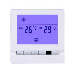 Bildschirmanzeige-Raum-Thermostat IR des HVAC-Systems-LCD Fernsteuerungskraftstoffregler Thermoregulator