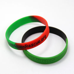 Goedkope Custom Silicone Rubber Stretch Hand Sports Band