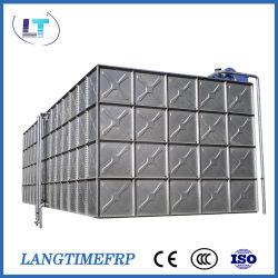 80 le mètre cube de galvaniser les frais généraux de l'acier assembler réservoir d'eau