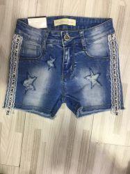 Los niños el algodón Spandex Short Denim Jeans pantalones