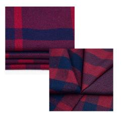 La moda al por mayor de textiles de lana de algodón tejido polar para prenda/vestido/camisa