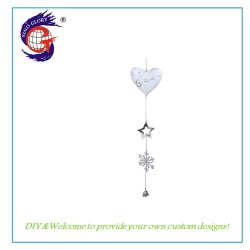 Natale Hanging Decorazione Regalo Cuore Stringa Holiday Craft