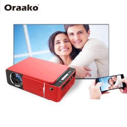 Massenpreis-Qualitäts-steuern voller hoher Definition LCD-Projektor mit 1080P Kino-beweglichen Miniprojektor T6 automatisch an