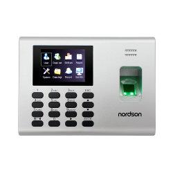셀프 서비스 방식의 내장 배터리 RFID 카드 생체 인식 시간 지문 출결