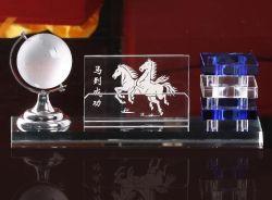 Venda por grosso de alunos da Escola Loja vidro porta-canetas Início do fornecimento de cristais de decoração artesanal de Globo Escritório Premium corporativo de promoção de negócios