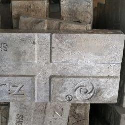구리 합금에 사용되는 고순도 99.995% 아연 Ingc/Pure Zinc Ingc 재질