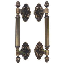 旧式な高品質の熱い販売のねじアクセサリが付いている真鍮のドアの引きのハンドル