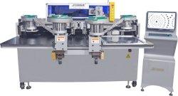 Computador Full automatic rebitagem Cravando Máquina para calçado de couro/sacos/ Correias JYL-A6-4