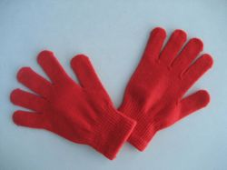 gestrickter Winter-warmer Acrylhandschuh der Form-10g