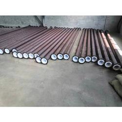 Revestidos de teflón la brida del tubo de acero al carbono tubo recto Tubo de acero de PTFE