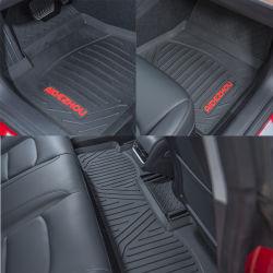 De volledige Vastgestelde Mat van de Vloer van de Auto PVC/Latex/Rubber van de Positie 3D Aangepaste voor Tesla Model 3