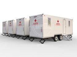 De modulaire Mobiele Container van het Ziekenhuis met de Fabrikant van de Eenheid van de Aanhangwagen